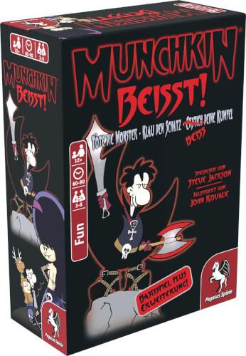 Pegasus Spiele Munchkin beißt! 1 + 2 Basisspiel plus Erweiterung
