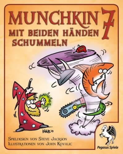 Pegasus Spiele Munchkin 7 Mit beiden Händen schummeln