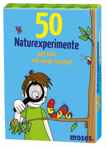 moses 50 Naturexperimente - Geh raus und werde Forscher
