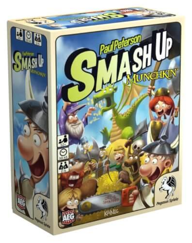 Pegasus Spiele Smash Up Munchkin