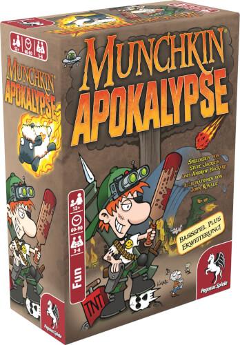 Pegasus Spiele Munchkin Apokalypse 1+2