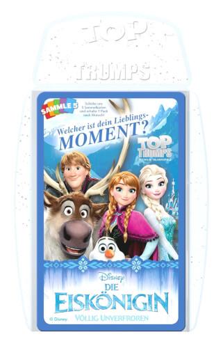 Winning Moves Top Trumps Disney Die Eiskönigin 30 Momente, für 2 Spieler, ab 8 Jahren