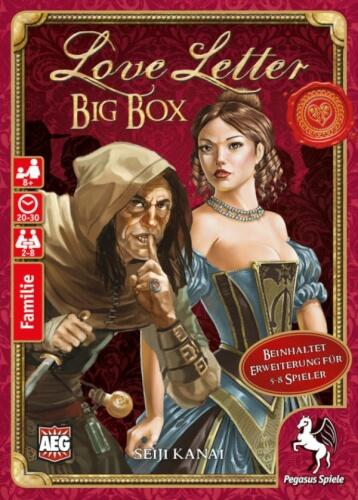 Pegasus Spiele Love Letter Big Box
