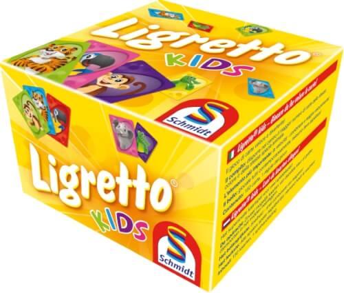 Schmidt Spiele 01403 Ligretto Kids, ab 5 Jahre