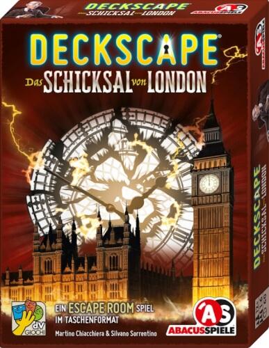 Abacusspiele Deckscape - Das Schicksal von London