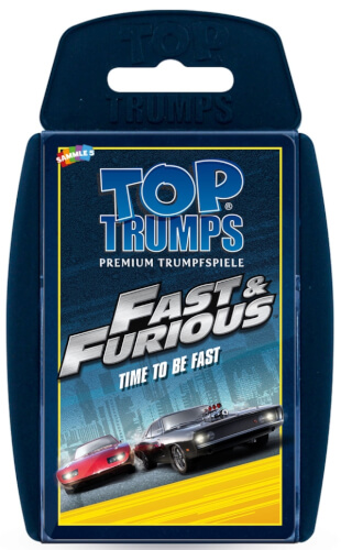 Winning Moves Top Trumps Fast & Furious