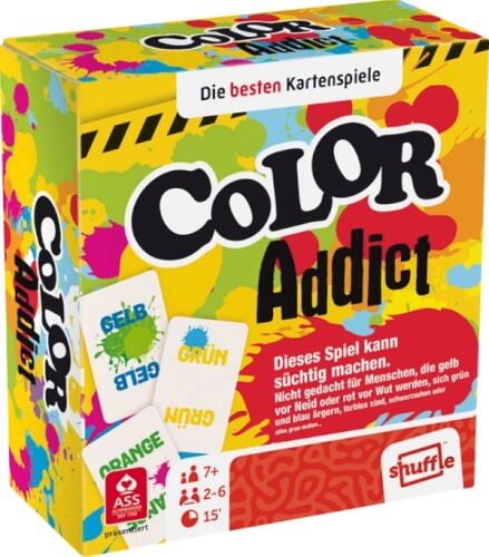 ASS Color Addict.Kartenspiel