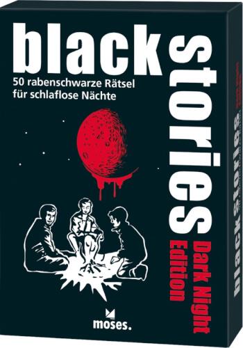 Moses black stories Dark Night Edition