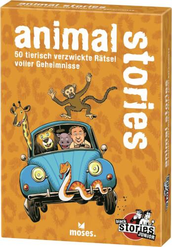 black stories junior: animal stories