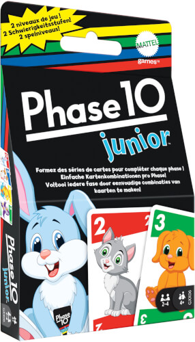 Mattel GXX06 Phase 10 Junior (D/F)