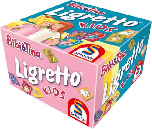 Schmidt Spiele 01412 Ligretto© Kids, Bibi & Tina