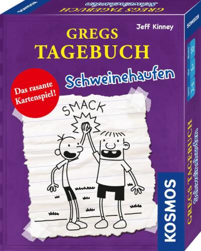 Kosmos Kartenspiel Gregs Tagebuch - Schweinehaufen