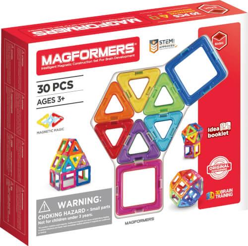 Magformers Standard Set 30-teilig Magnetspiel