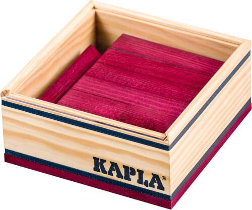 KAPLA® 40er farbige Plättchen - Violett - C40P