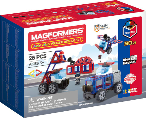 Magformers Amazing Police & Rescue Set 26 Teile