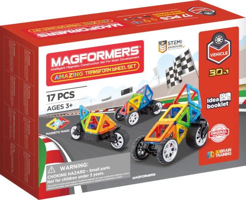 Magformers Amazing Transform Wheel Set 17 Teile