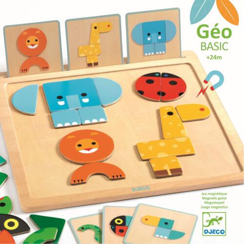 Magnet-Legespiel: GeoBasic