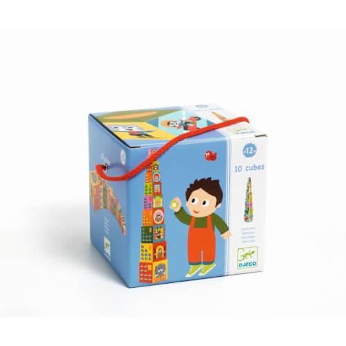 Stapel Spielzeug: 10 véhicles blocks