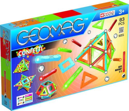 GEOMAG Confetti 83 Teile