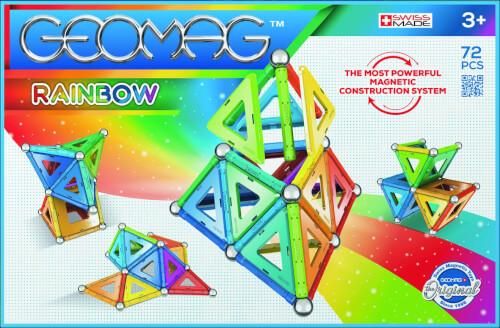 GEOMAG RAINBOW 72 Teile