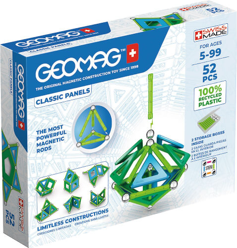 GEOMAG CLASSIC PANELS GREEN Line 52 Teile