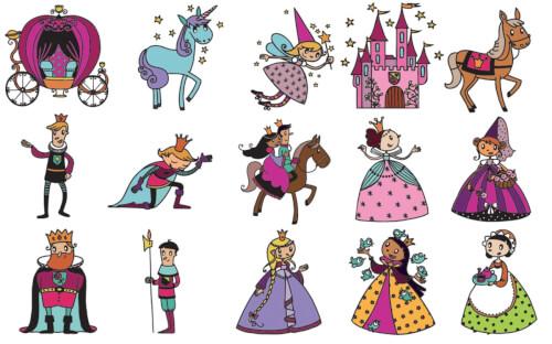 Stampo Kids Prinzessin