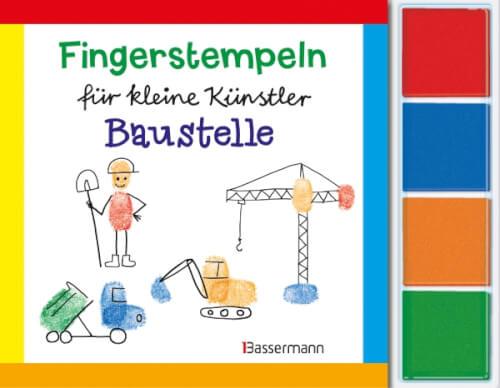 Fingerstempeln Baustelle-Set 06/15