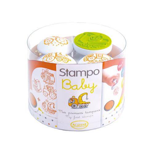 Aladine - Stampo Baby Baumaschinen