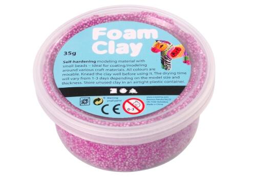 Foam Clay® Neonlila 35 Gramm