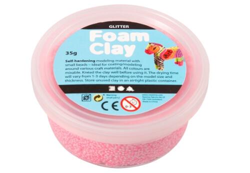 Foam Clay® Hellrot 35 Gramm