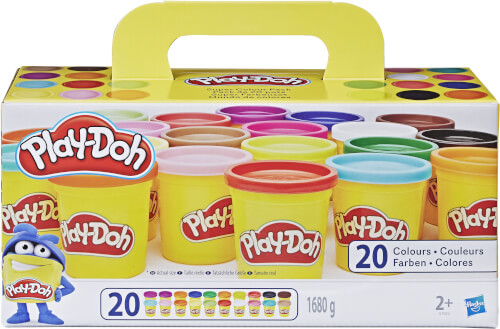 Hasbro A7924EUC Play-Doh Super Farbenset (20er Pack)