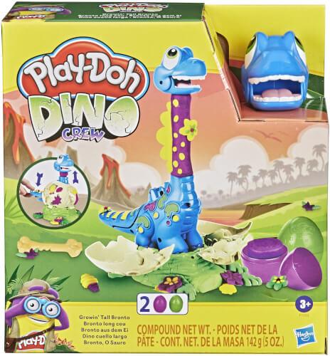 Hasbro F15035L0 Play-Doh Dino Wachsender Bronto Ausbruch