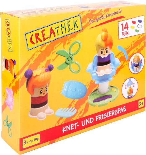 Creathek Knet- und Frisierspaß, 14 Teile
