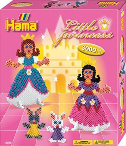 Hama® Bügelperlen Midi - Geschenkpakung Prinzessin -1 Stiftplatte Prinzessin, 300