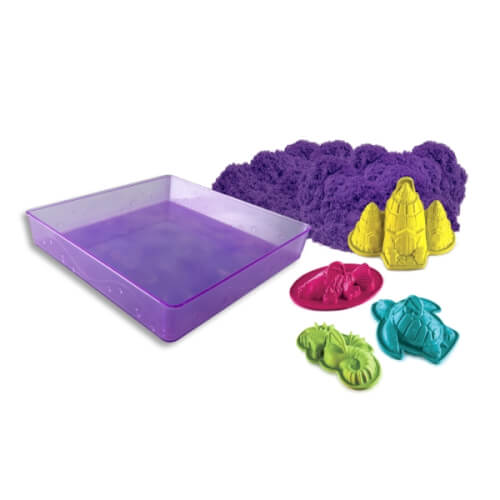Spin Master Kinetic Sand Box Set Lila 454 g