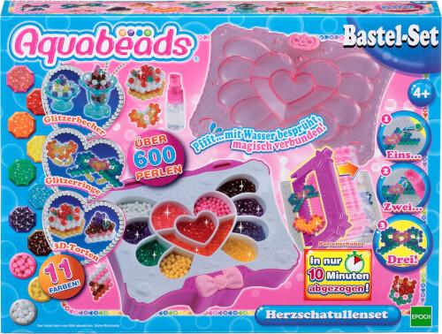 Aquabeads 79288 Kristallanhänger Set mit 400 Perlen