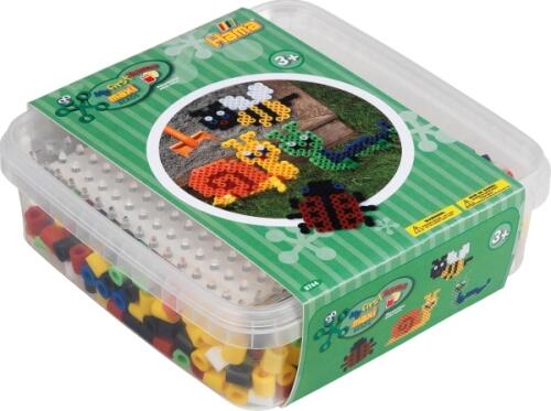 Hama® Maxi Perlen Dose Garten mit 600 Perlen