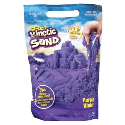Spin Master Kinetic Sand Colour Bag Lila 907 Gramm