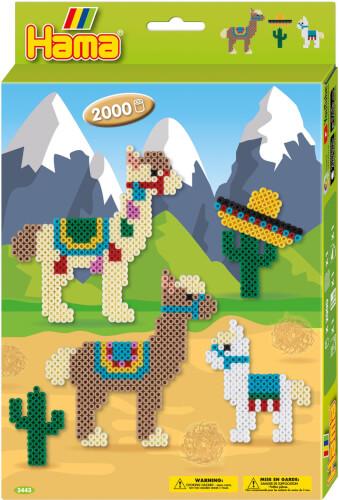 Hama® Bügelperlen Geschenkpackung Alpakas 2.000 Stück