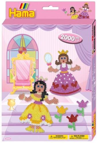 Hama® Geschenkpackung Prinzessinen 2.000 Stück