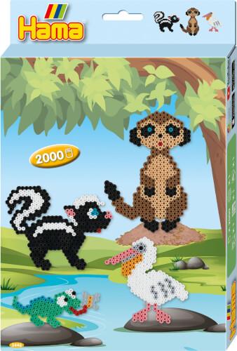 Hama® Geschenkpackung Wildtiere