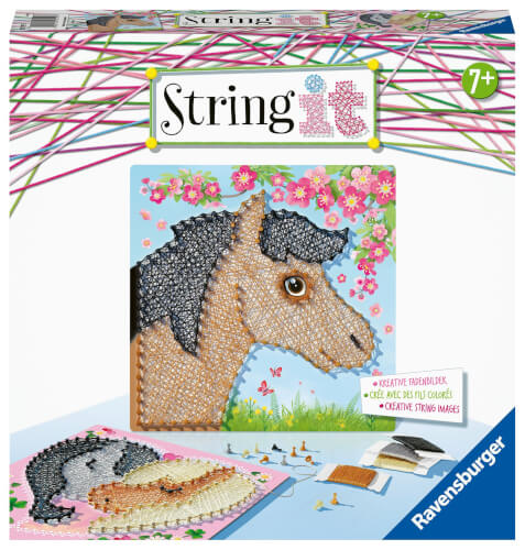 Ravensburger 18119 String it Midi Horses