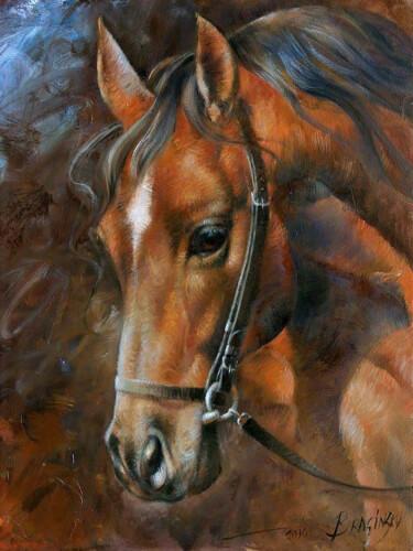 Diamond Painting Pferd 40x30 cm