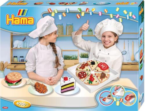 Hama® midi Bügelperlen Geschenkbox SnackŽs