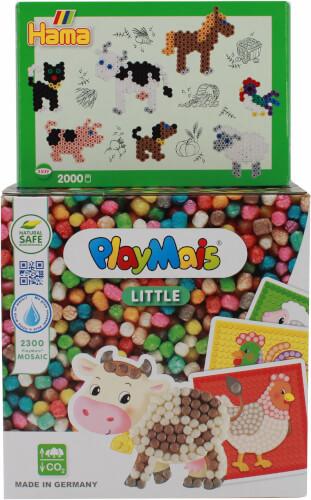 PlayMais® + HAMA® Bauernhof Bundle
