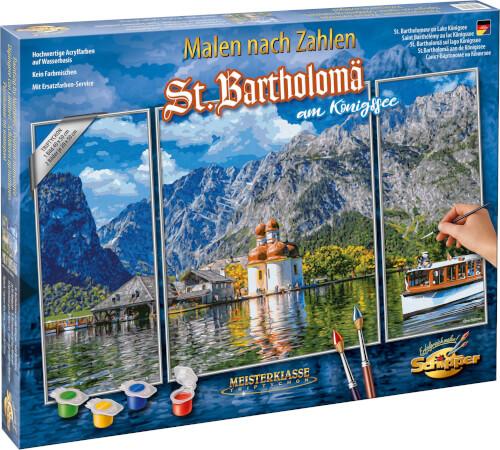 Malen nach Zahlen - St. Bartholomä am Königssee