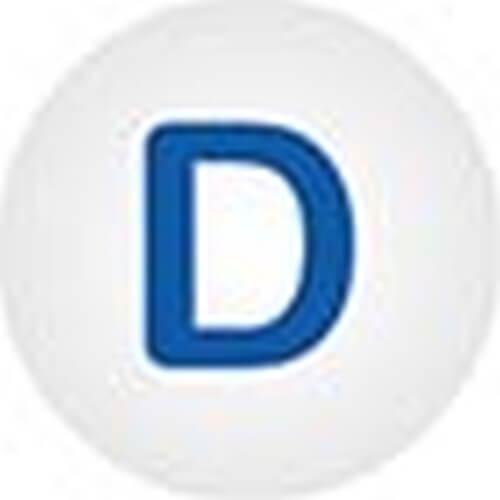 Clickhalbperle D, #= 12 mm