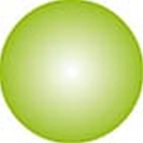 Clickhalbperle apfelgrün, #= 12 mm