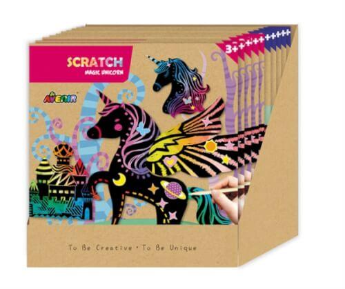 Avenir - Scratch Display ass