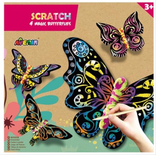 Avenir - Scratch Magic Butterflies